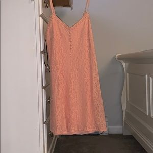 Forever 21 peach colored dress